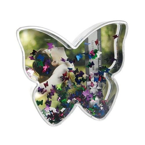 Boule photo en forme de Papillon - Papillons multicolores