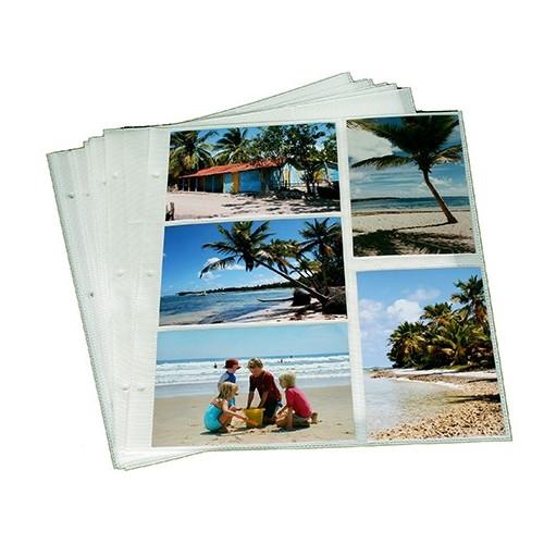 Lot de 40 feuillets pour classeurs photos Infinity-Smile-Marine à pochette 10x15