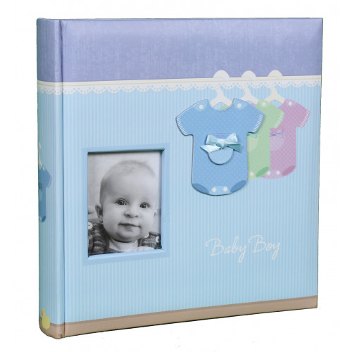ALBUM-PHOTO-BABY-BOY-200-POCHETTES-10X15
