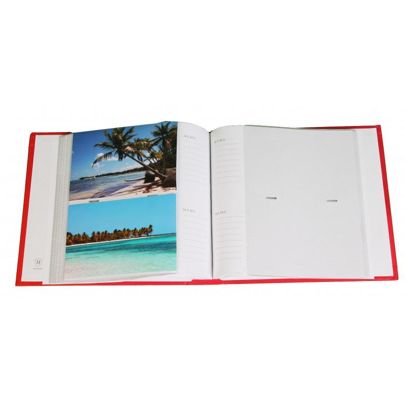 ALBUM PHOTO NEXUS TURQUOISE 200 POCHETTES 11,5x15,5