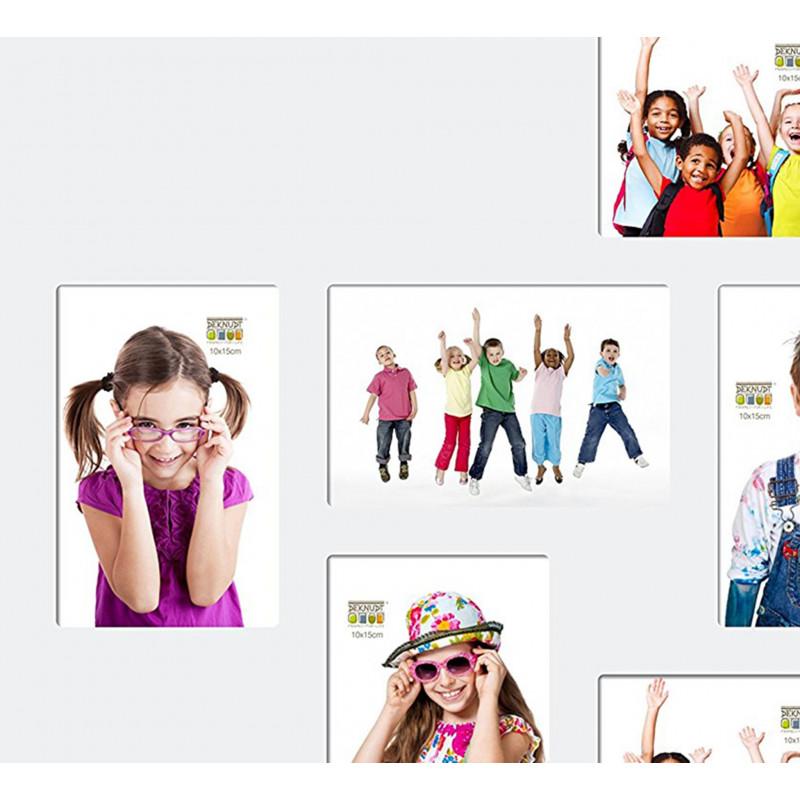 CADRE-MULTIVUES-S67CK1 P8-CARRE-10-PHOTOS-10X15-BLANC