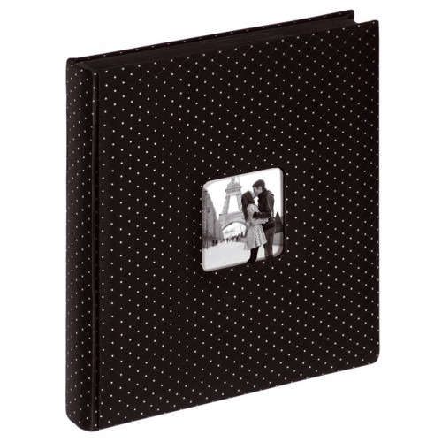 ALBUM PHOTO TRADITIONNEL BLACK GLAMOUR 200 PHOTOS 10X15