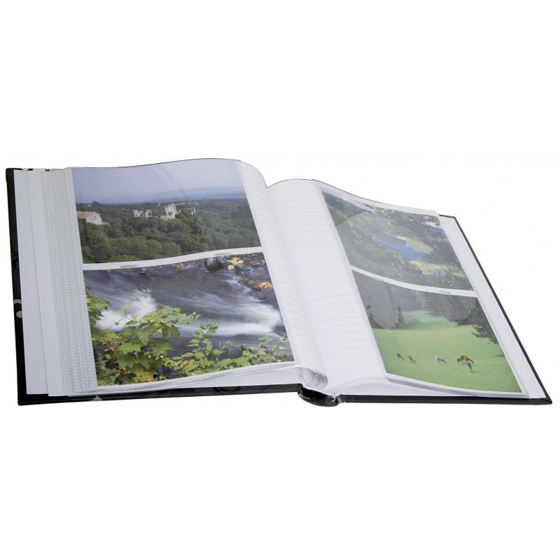 ALBUM-PHOTO-GRINDY-200-POCHETTES-11,5x15-NOIR