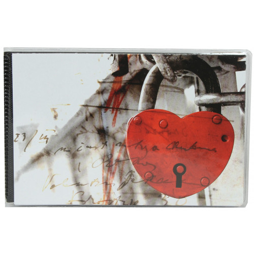 Album photo à pochettes 10x15 Walther Hearts II - Cadenas du coeur