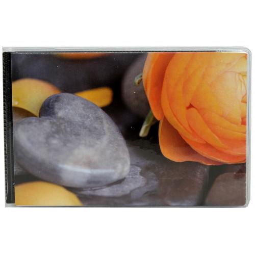 Album photo à pochettes 10x15 Walther Hearts II - Coeur et bouton