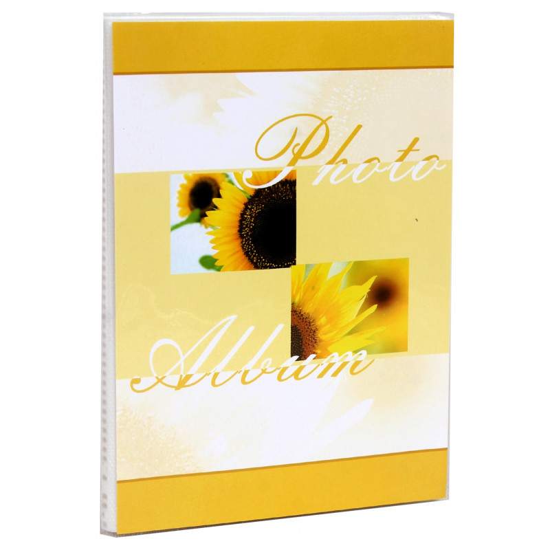 MINI-ALBUM-PHOTO-SUMMER-BREEZE-36-POCHETTES-10X15-JAUNE