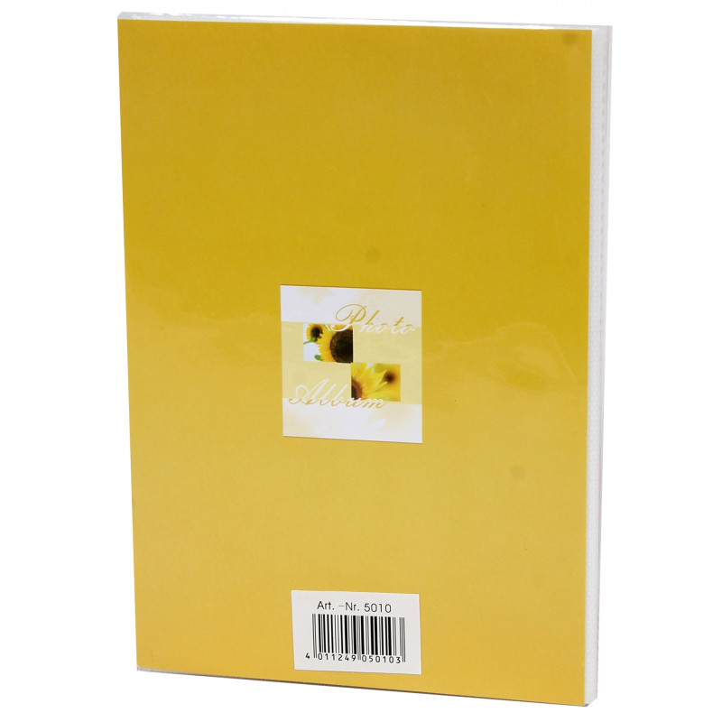 MINI-ALBUM-PHOTO-SUMMER-BREEZE-36-POCHETTES-10X15-JAUNE-DOS