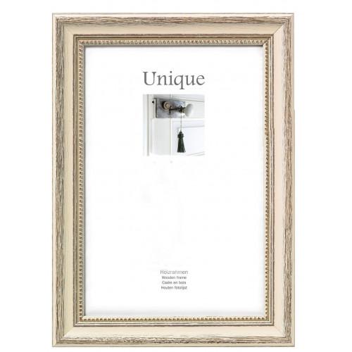 Cadre photo en bois Unique2 - crème 40X50