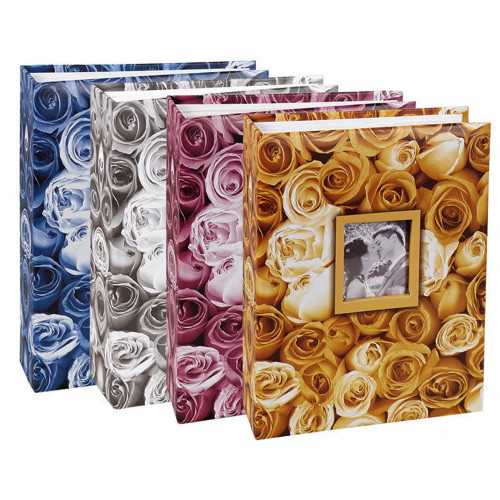 Lot 4 albums photos Roses 100 pochettes 10X15