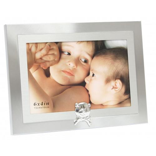 Cadre photo métal enfant Ourson 10x15