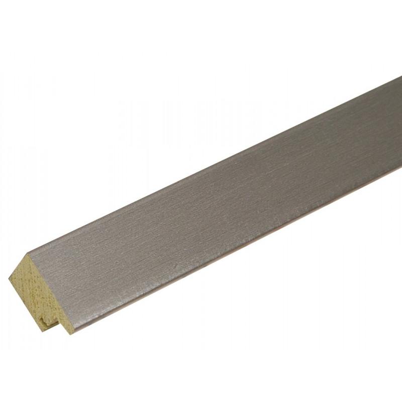 PELE-MELE-MAGNETIQUE-S41VD1 M-50X50-DEKNUDT-ARGENTE-MOULURE