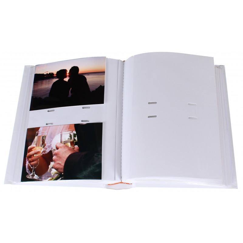 ALBUM PHOTO SUPER 200 POCHETTES 10X15 OUVERT