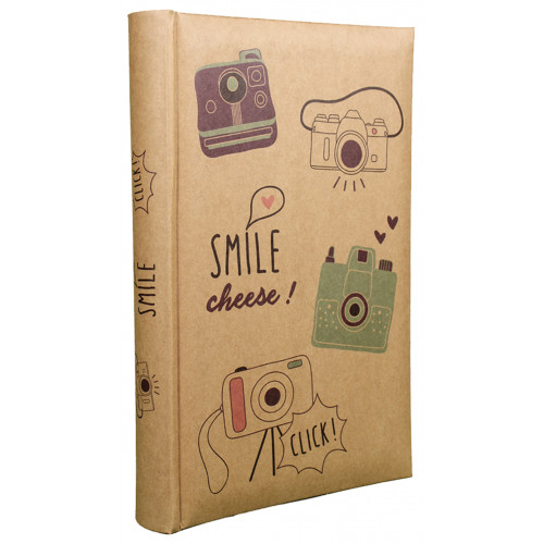 LOT 2 ALBUMS PHOTO SMILE 300 POCHETTES 11,5X15