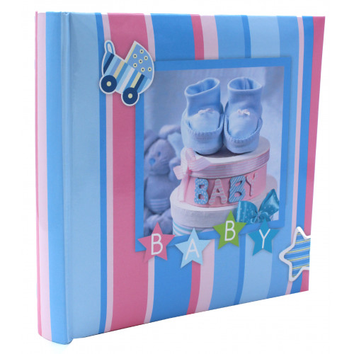 BABY BLUE 200 POCHETTES 10X15