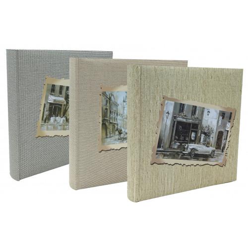 Lot de 3 albums photo traditionnel Retro Look