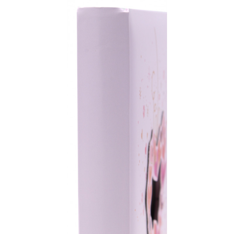 ALBUM PHOTO NAISSANCE BABY'S FLOWER POWER-DETAIL-ROSE