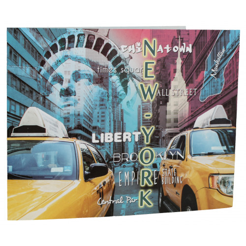 Cartonnage photo scolaire - Groupe 20x30 - New York