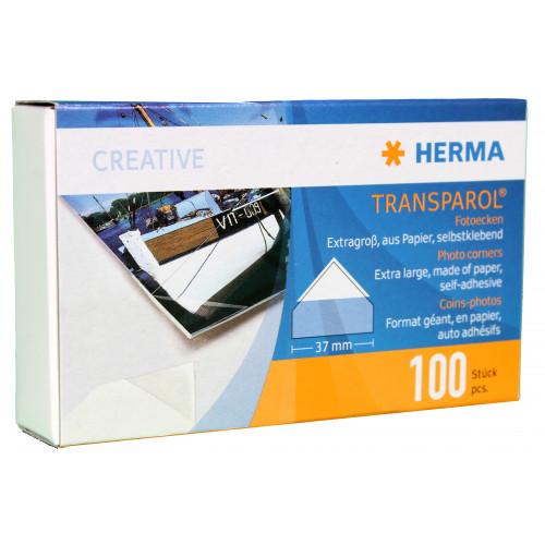 100 COINS ADHESIFS GRAN FORMAT HERMA
