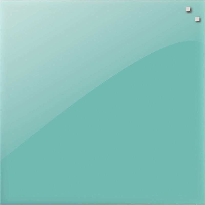 PELE-MELE-MAGNETIQUE-NAGA-45X45-EN-VERRE-TURQUOISE