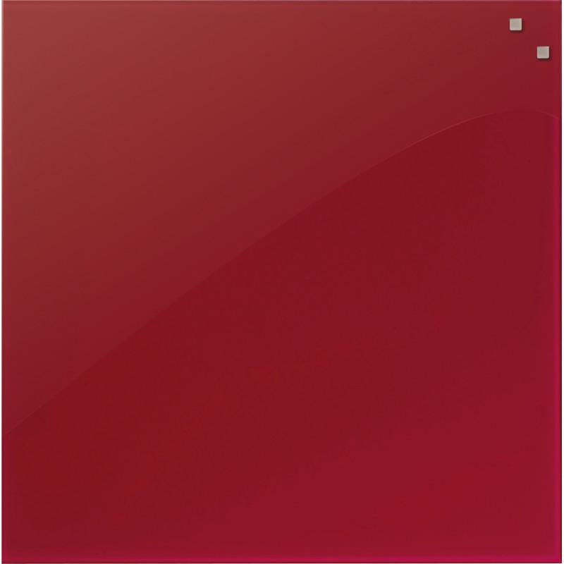 PELE-MELE-MAGNETIQUE-NAGA-45X45-EN-VERRE-ROUGE