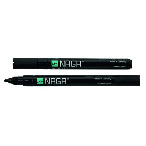 2 Marqueurs noirs pour tableau Naga