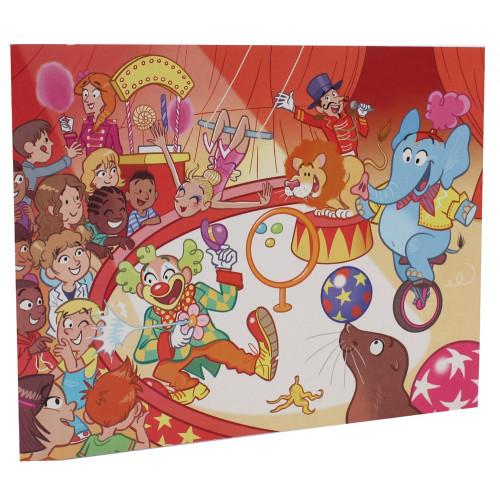 Cartonnage photo scolaire - Groupe 18x24 - Cirque