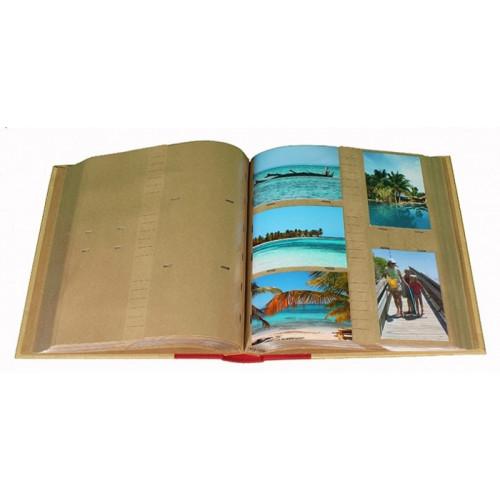 ALBUM-PHOTO-PANODIA-GREEN-EARTH-500-POCHETTES-11,5X15-OUVERT