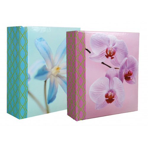 LOT-2-ALBUMS-PHOTO-NEW-FIORI-100-POCHETTES-11,5x15