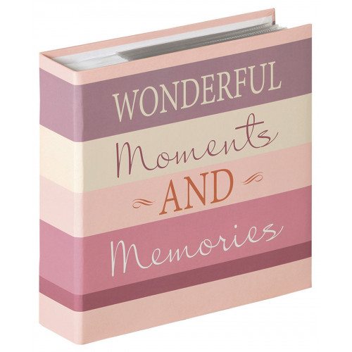 ALBUM PHOTO MOMENTS WONDERFUL 200 POCHETTES 13X18