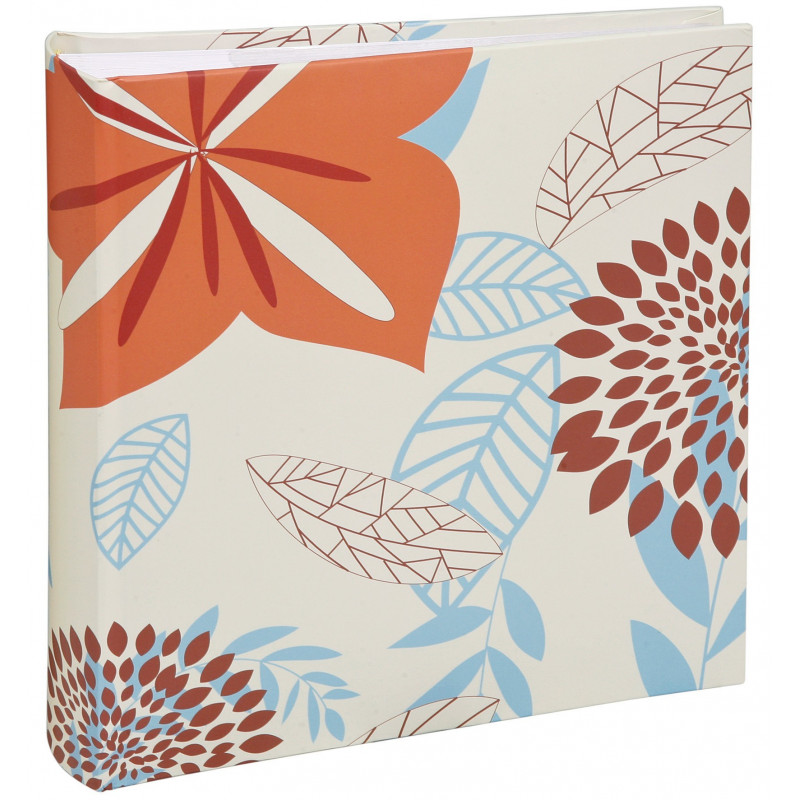 ALBUM-PHOTO-FLOWERS-200-POCHETTES-11,5x15-BRUN
