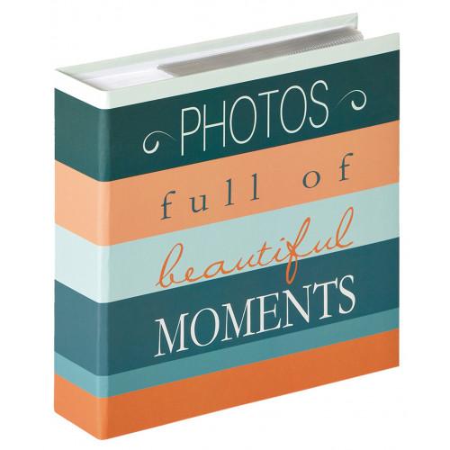 ALBUM PHOTO MOMENTS 200 POCHETTES 10x15