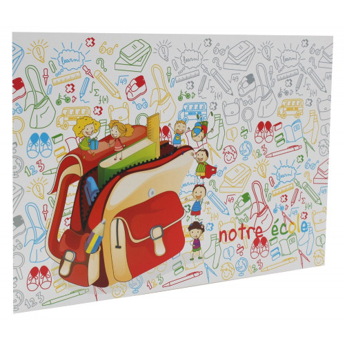 Cartonnage photo scolaire - Groupe 20x30-18x27-18x25-18x24 - Cartable