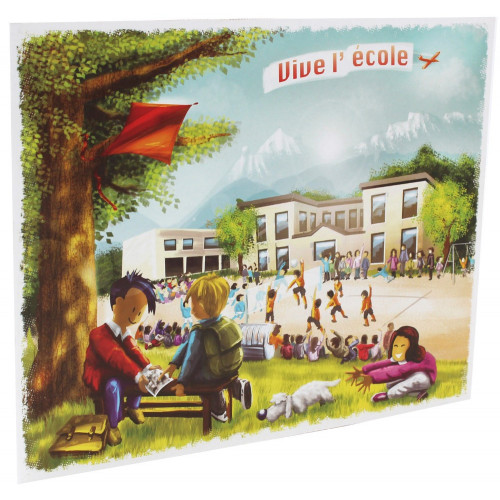 Cartonnage photo scolaire - Groupe 20x30-18x27-18x24 - Vive l'école new