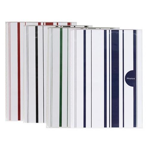Lot 12 mini albums photos Color Stripes 36 pochettes 10X15