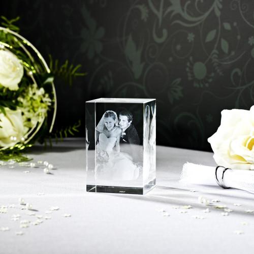 Cube 3D KELO V en verre Viamant personnalisable