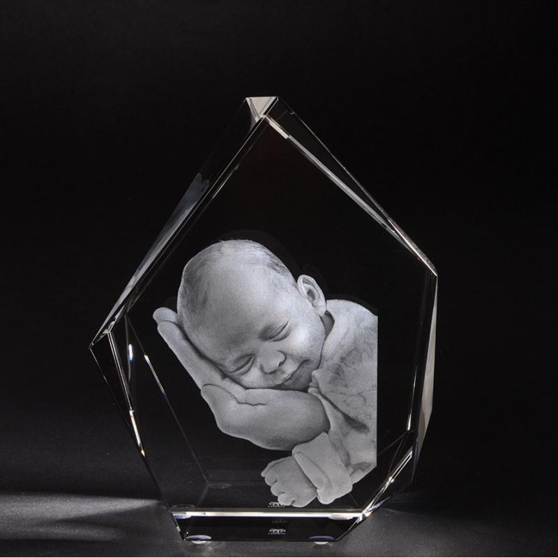 3D ICEBERG L en verre Viamant personnalisable