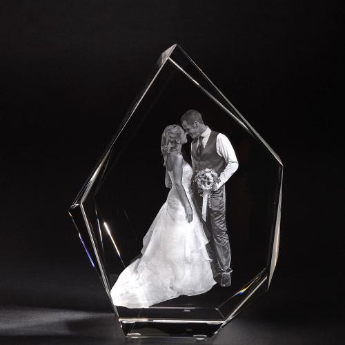 3D ICEBERG XL en verre Viamant personnalisable
