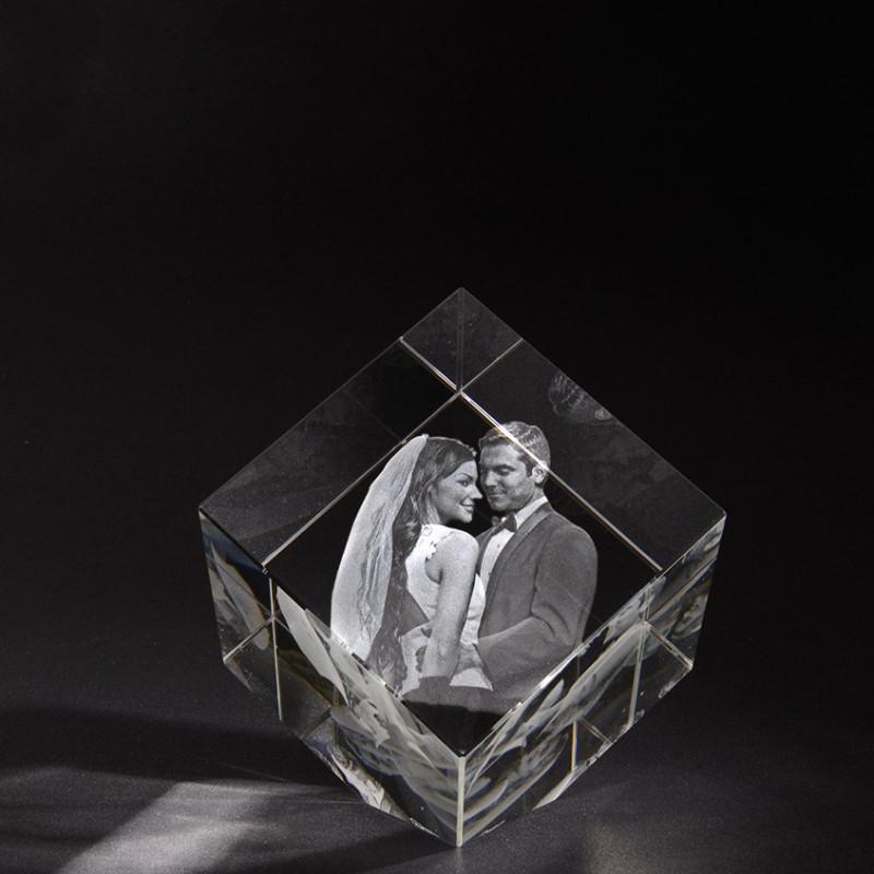 3D PRECIOUS L en verre Viamant personnalisable