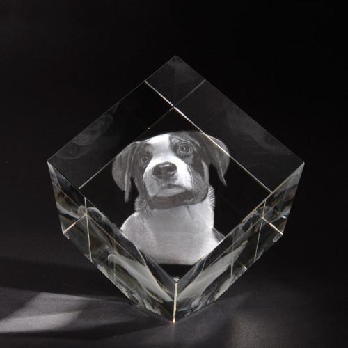 3D PRECIOUS XL en verre Viamant personnalisable
