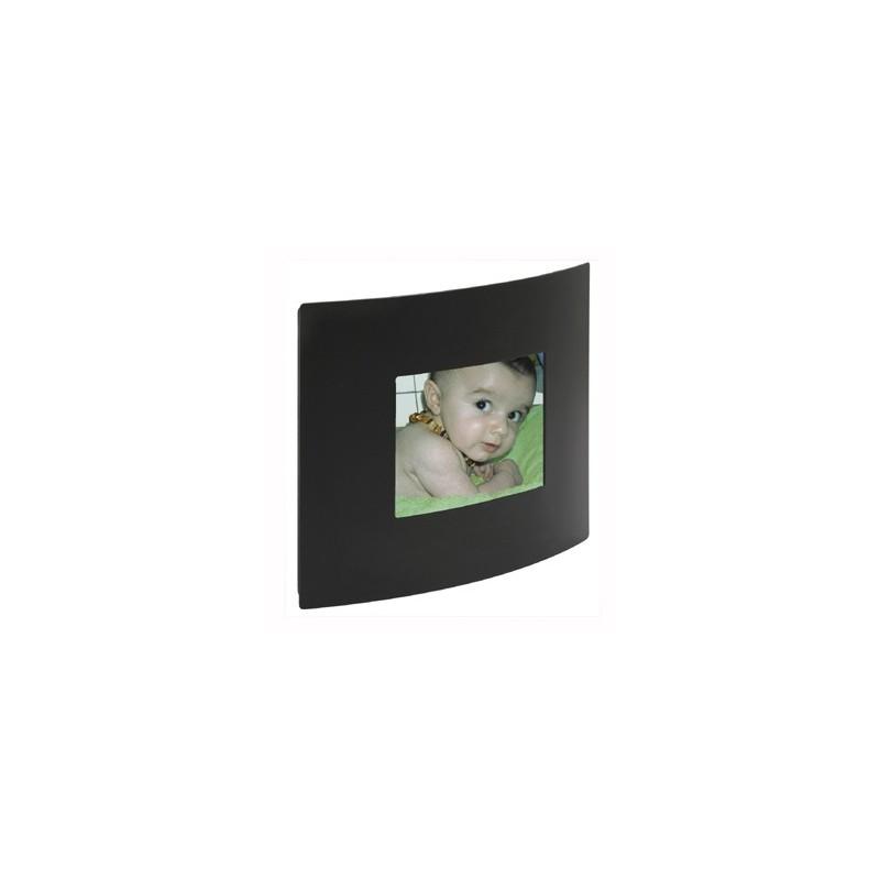 Cadre photo galbe 6x9 - Noir