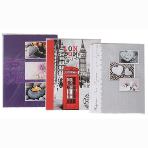 LOT DE 3 MINI ALBUM PHOTO TRIO POUR 24 PHOTOS 13x18