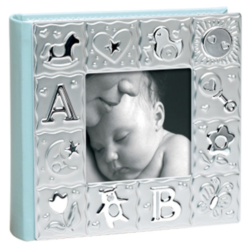 MINI ALBUM PHOTO MASCAGNI KIDS BLEU 100 POCHETTES 10X15