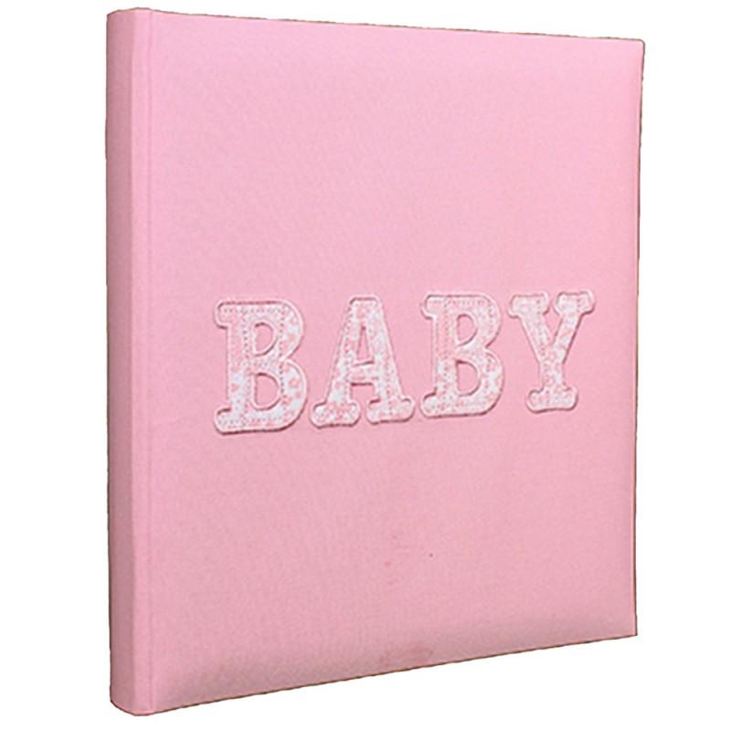 ALBUM-PHOTO-NAISSANCE-BABY-WORLD-ROSE