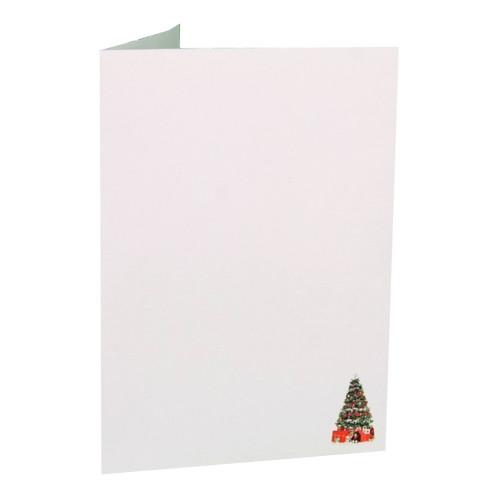 Cartonnage photo de Noël - Vertical - Sapin