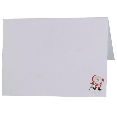Cartonnage photo de Noël - Horizontal - Père Noël avec canne