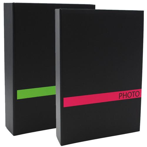 LOT 2 ALBUMS PHOTO SENSATION VRS 200 POCHETTES 10X15