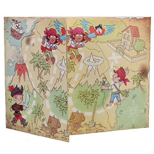 Cartonnage photo triptyque 13x18+18x24+pochette - La chasse au trésor
