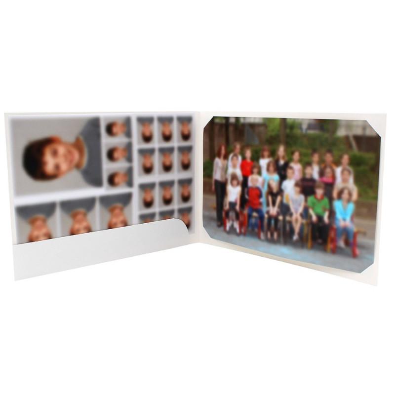 Cartonnage scolaire - Groupe 20x30 avec RABAT - Ners