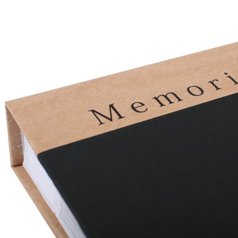 ALBUM PHOTO MEMORIES 300 POCHETTES 10X15 DETAIL NOIR