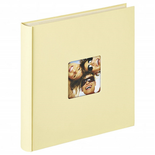 ALBUM PHOTO FUN AUTOCOLLANT 200 PHOTOS 10X15/11,5x15 CREME